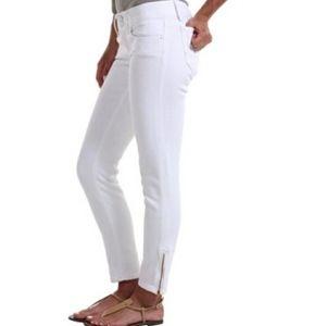 Lilly Pulitzer Worth Skinny Mini Zip Ankle Jean 4